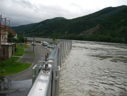 Danube flood protection Oberarnsdorf